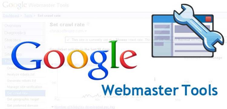 شرح أدوات مشرفي المواقع Webmasters Tools