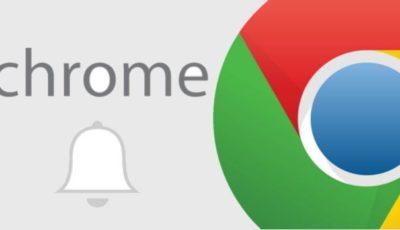 إيقاف تشغيل الإشعارات لمتصفح جوجل كروم